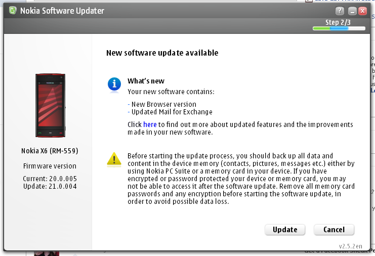 New v 21 0 004 Firmware - All About Symbian Forums